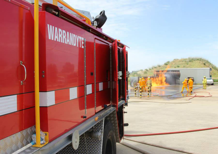 Warrandyte CFA | Volunteer members training